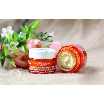 Kiehls / Kiehl's Turmeric & Cranberry Seed Energizing Radiance Masque 14ml (Trial Size)