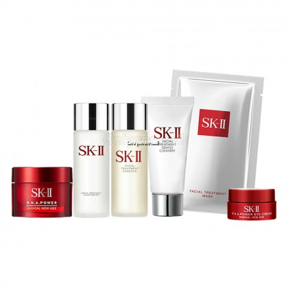 SK-II Pitera Daily Essentials Travel Set 21 (6 items with FREE Mystery Gift)