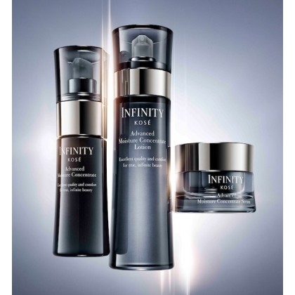 KOSE Infinity Kose Advance Moisture Concentrate 50ml FREE Sample Gift