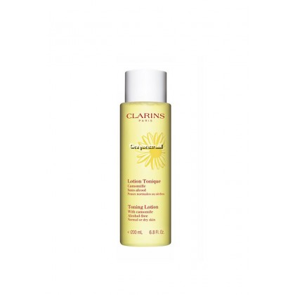 Clarins Toning Lotion With Camomile 200ml (With Free Gift)