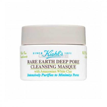 Kiehls / Kiehl's Rare Earth Deep Pore Cleansing Masque 14ml (Trial Size)