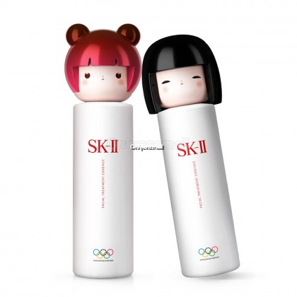 SK-II Black Tokyo Doll Treatment Essence 230ml FREE SK-II Gift (Limited Edition)