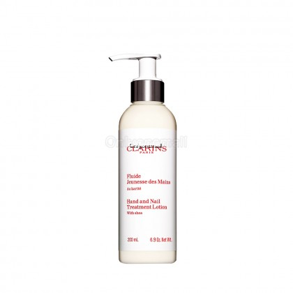 Clarins Hand and Nail Treatment Lotion with Shea Butter 200ml (Imported from French)