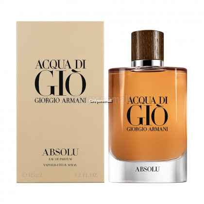 Giorgio Armani Acqua Di Gio Absolu EDP 125ml (With FREE Gift)